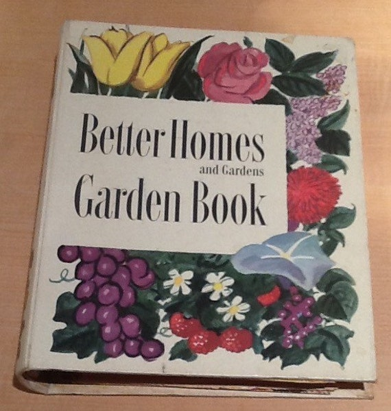 Vintage 1954 second edition better homes and gardens Better homes and gardens planting guide