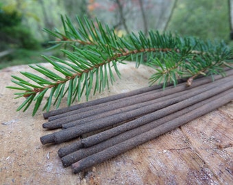 Scottish Pine Incense Sticks | Ultimate Grade | 100% Natural Incense | Traditional Indian Incense | Hand Rolled With Essential Oils