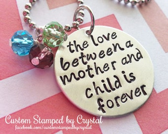 The Love between a Mother and Child is Forever
