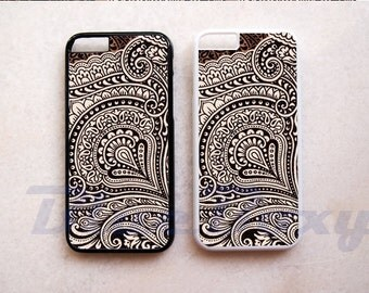 Vintage Pattern - iPhone 8, iPhone X, iPhone 7, iPhone 7 Plus, iPhone 6, iPhone 6s, iPhone 6 Plus, iPhone 5/5s, iPhone 4/4s, Phone Covers
