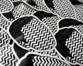 Black Lodge Coop Vinyl Sticker