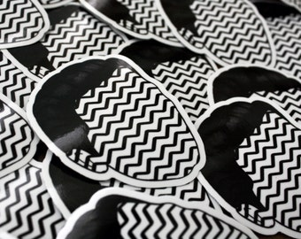 Black Lodge Coop Vinyl Sticker