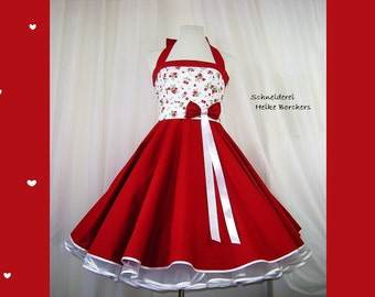 Petticoat dress Strawberry cream