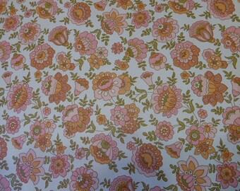 vintage 1970s, wallpaper wallpaper, pink flowers