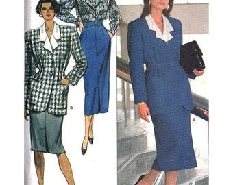 Butterick Sewing Pattern 5776 Misses' Jacket, Skirt, Blouse   Size:  12-14-16  Uncut