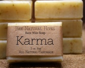 Bees Wax Soap Karma Soap Men Soaps Spice Soap Clean Scented Soap Natural Clean Scent Honey Bee Soap Men Gift Soap Women Gift Cold Process