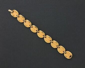Vintage Kramer Bracelet Goldtone Links