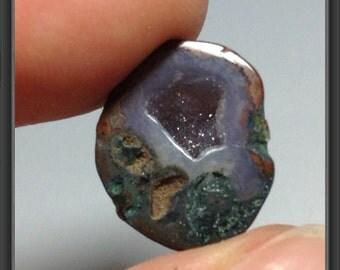 Agate mini- small polished half 16x14x7mm