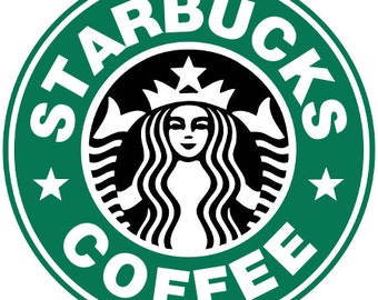 Starbucks Coffee Iron On Patch
