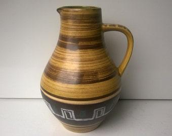Jasba, Pitcher, Nr, 246/25, West German Pottery, 1950s