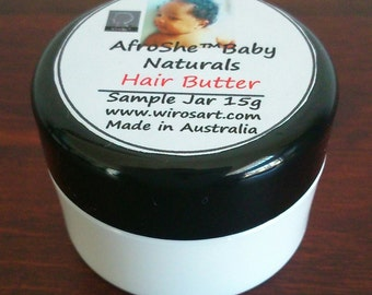 AfroShe® Baby Naturals Hair Butter (sample) - hydrates & nourishes hair (Afro and Curly hair)