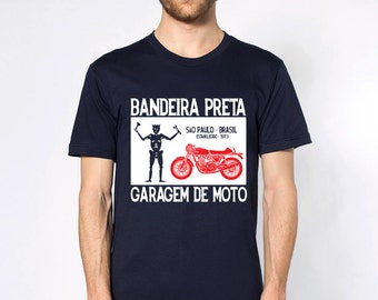 KillerBeeMoto: Black Flag Motorcycle Garage Short & Long Sleeve Motorcycle Shirts