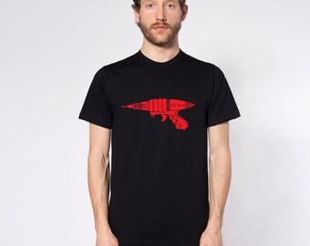 KillerBeeMoto: Vintage Ray Gun Blaster Short & Long Sleeve Shirt