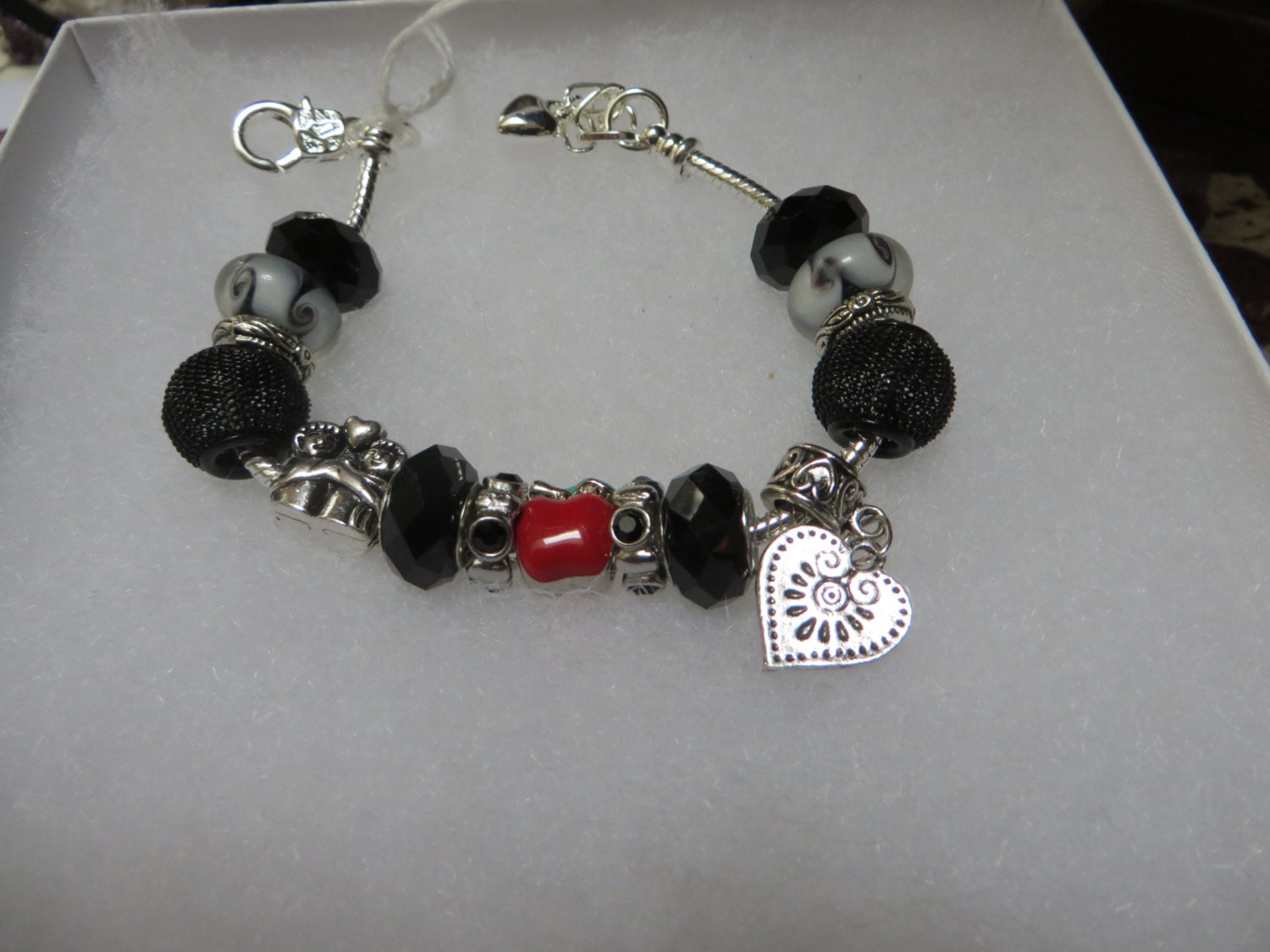 charm bracelet student gift by nursescreations