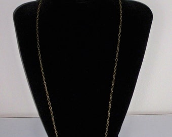 "24"" Antique Bronze Jewelry Chain"