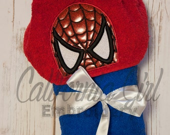 Spiderman Hooded Towel for Beach or Bath
