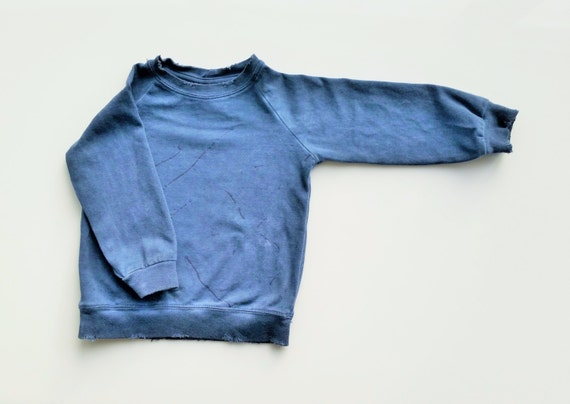 ON SALE! Top Toddlers Shirt.Boys shirt.Boys wash blue shirt.Long sleeve kids shirt.Toddlers fashion.Boys cool fashion.Dark wash blue shirt
