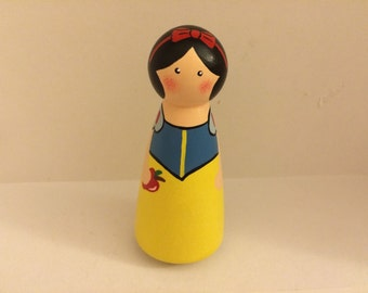 Snow White Peg Doll
