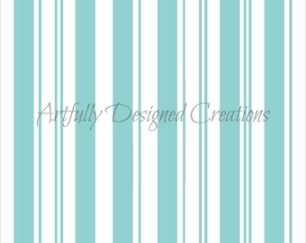 Candy Cane Stripes Background Stencil