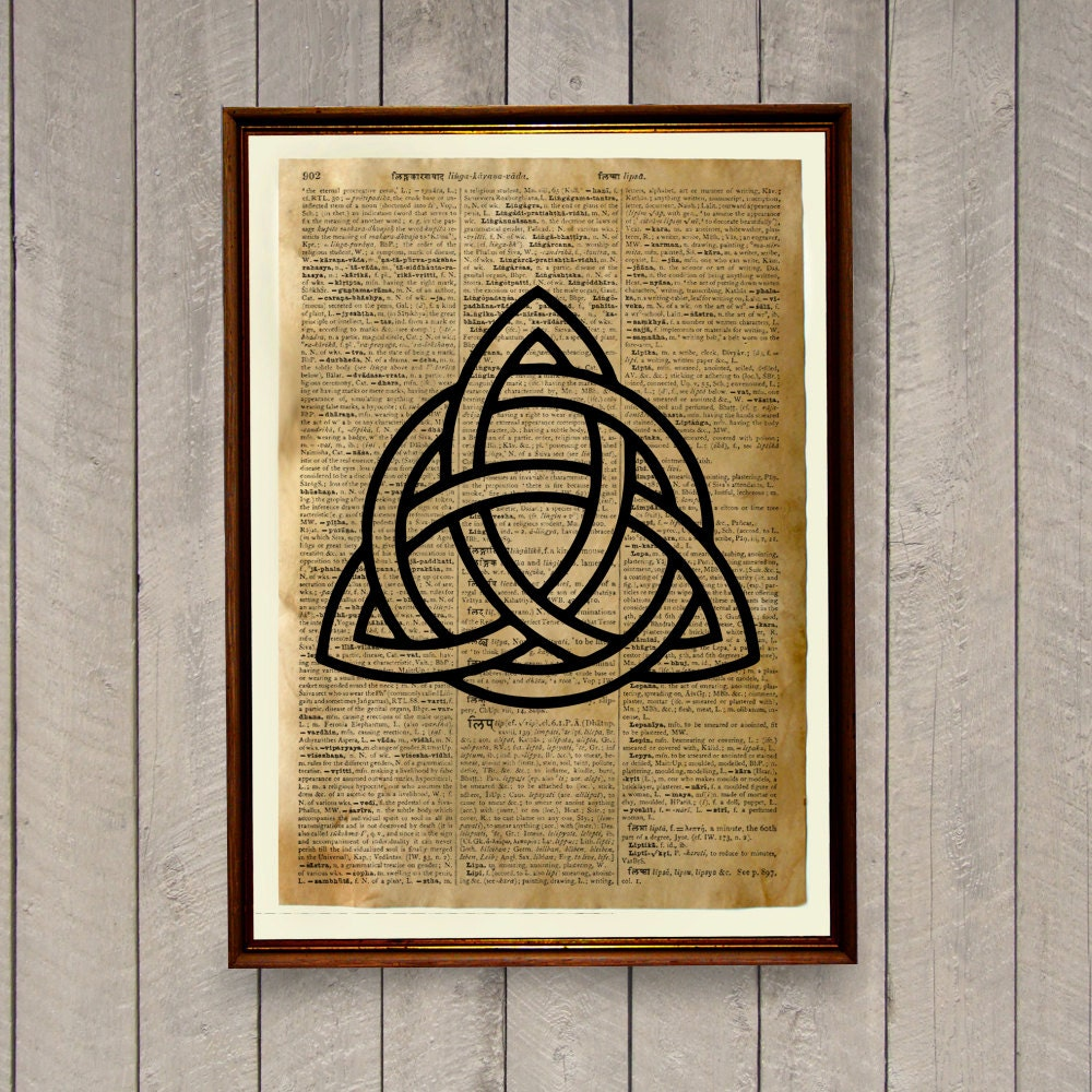 Celtic print medieval decor nordic poster wa76 for Medieval decorations home