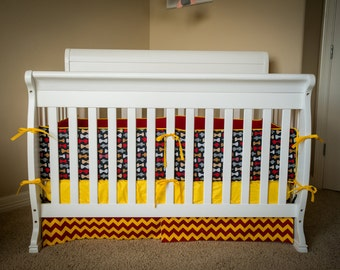 Harry potter crib bedding etsy - Harry potter crib set ...