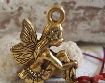 Fairy charm,Fairy Jewelry charm,Fairy Bracelet Charm