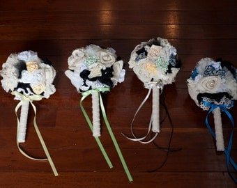 Fabric Bouquet Package #1