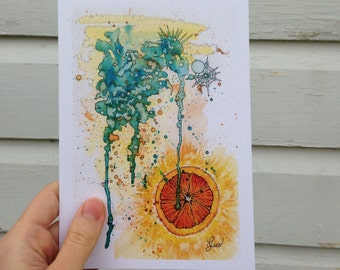 "Greeting Card - ""Citrus"""