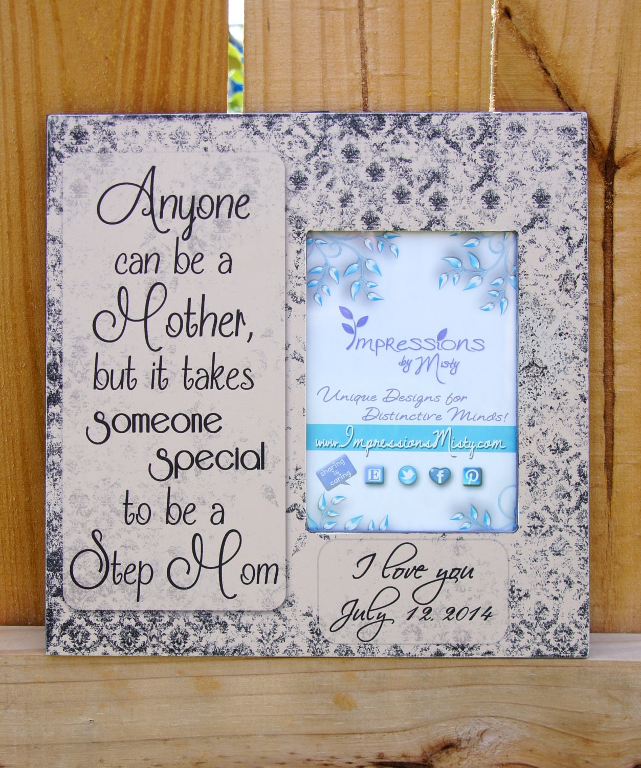 Wedding Gift For Dad And Stepmom : Personalized Step Mom Gift Mother of the by ImpressionsByMisty