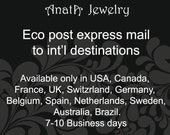 Eco Post Express Mail to International Destinations