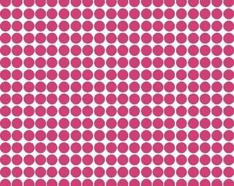 Polka dot 1/2 inch size - sheet of 200 - your choice of color