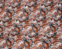 1970s printed fabric