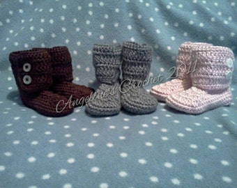 baby boots, crochet boots, baby gift, crochet baby boots, custom baby boots, baby gift, baby shoes