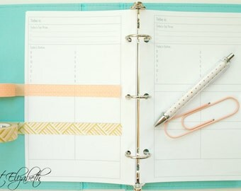 Basic Daily Planner - A5 Sized