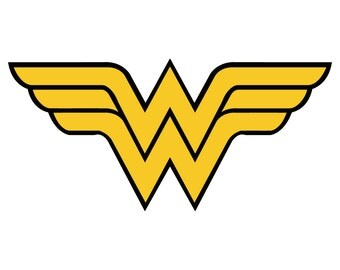 Wonder Woman Vintage Style Vinyl Decal Sticker Comic Superhero