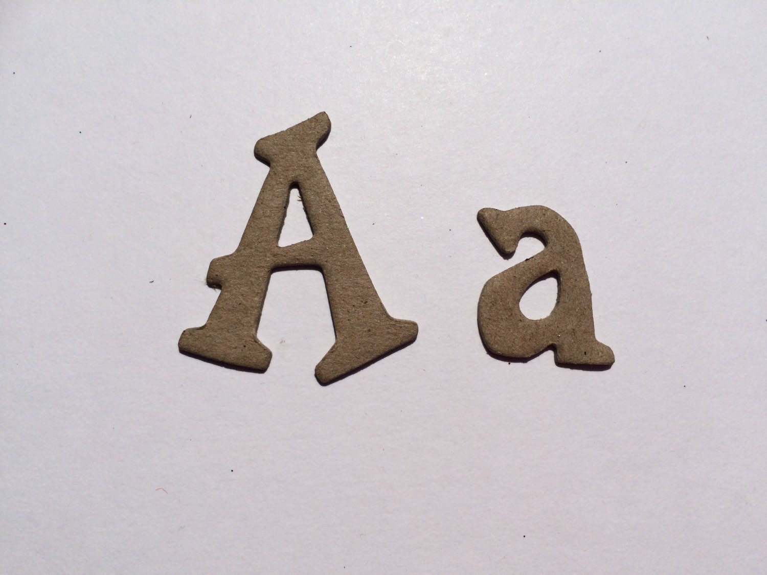 10 plain chipboard letters 15 inches 4cm tall for Where to buy chipboard letters