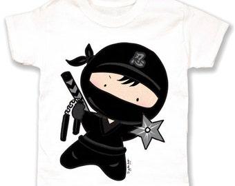 Popular items for ninja tshirt
