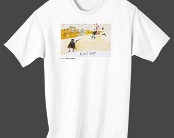 "Fly Town Comics Tee Shirt - ""Flyatt Earp"""