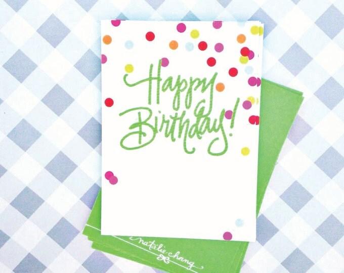 Confetti Birthday Tags (Qty 10)