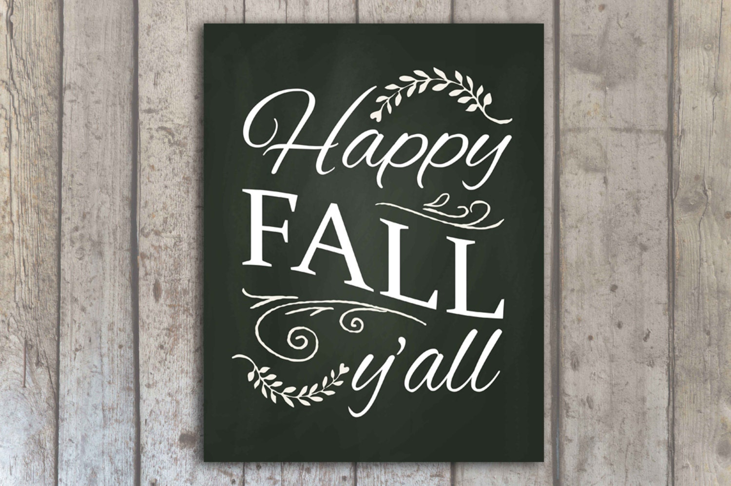 This is an image of Striking Happy Fall Yall Printable