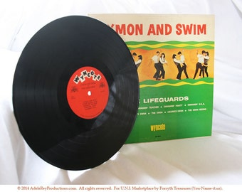 THE LIFEGUARDS - C'mon and Swim (33RPM Vintage Record)