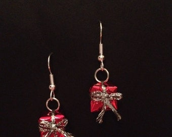 Red Gift Earrings