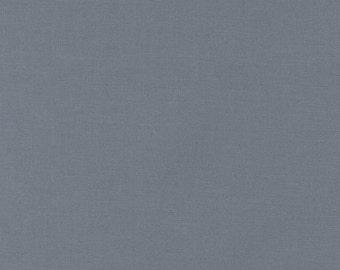 Kona Cotton in Steel - Robert Kaufman (K001-91)