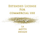 Extended license for commercial use from La Motte design