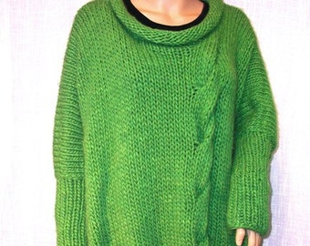 Hand knitted sweater.Women.
