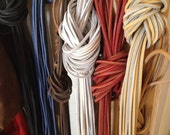 """LEATHER LACES ~72"""" x 1/8 leather shoe / boot laces"""