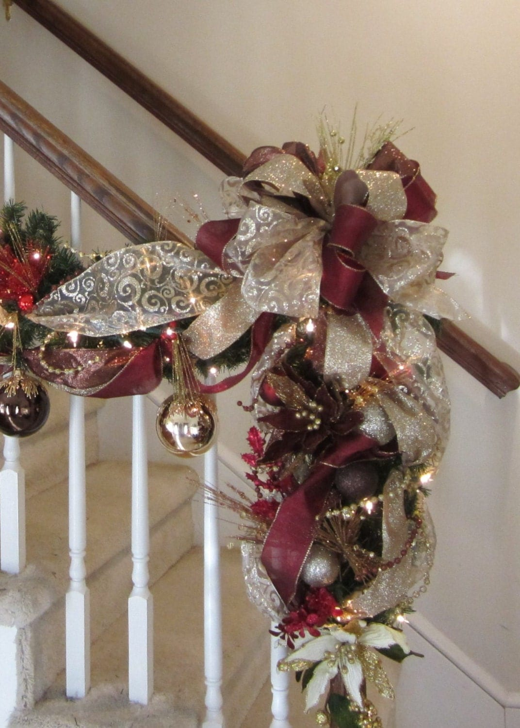 Christmas swag shipping included elegant wreath garland for Christmas swags and garlands to make