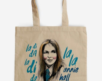 Annie Hall, Woody Allen Tote Bag