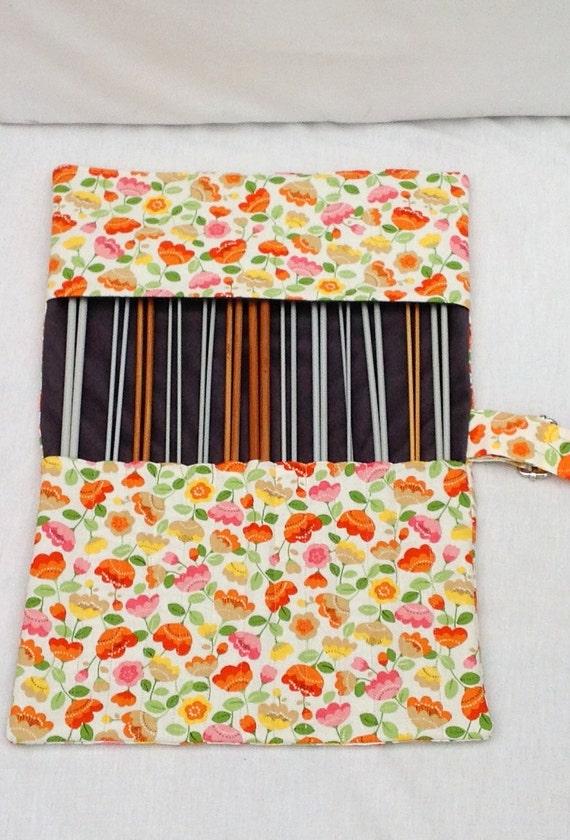 Knitting Notions Organizer : Large knitting bag needle organizer notions