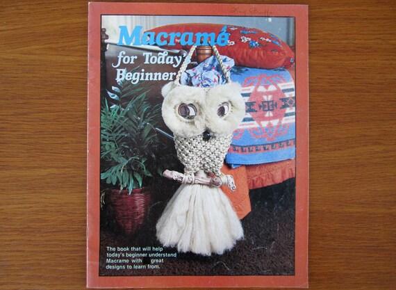 Macram chouette mod le livre rideau en fen tre fringe - Macrame pour debutant ...